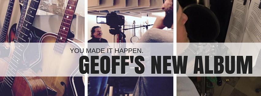 Geoff Moore - New Album coming Winter of 2015
